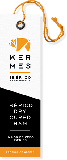 KERMES, Jamon Mediterraneo, Iberico from Greece