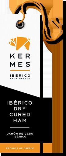 KERMES, Jamon Mediterraneo, Iberico from Greece